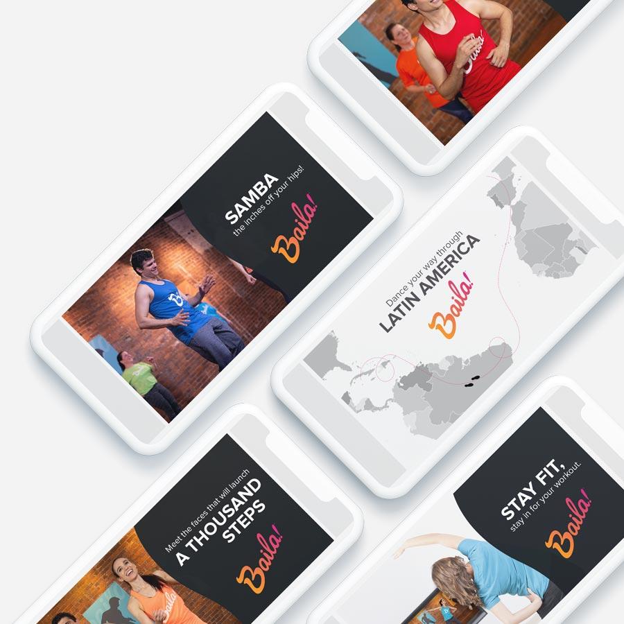 Baila Product Launch Tina Garcia